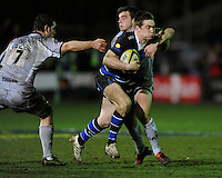 Tom Heathcote of Bath Rugby in action during the LV= Cup semi final match between Bath Rugby and Leicester Tigers at The Recreation Ground, Bath (Photo by Rob Munro, Fotosports International)