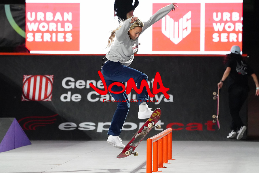 6th November 2020; Parc del Forum, Barcelona, Catalonia, Spain; Imagin Extreme Barcelona; picture show Cata Diaz (ESP) during women street final