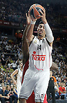 Real Madrid's Gustavo Ayon during Euroleague Final Match. May 15,2015. (ALTERPHOTOS/Acero)