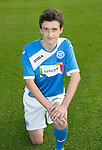 St Johnstone Academy Under 15's…2016-17<br />Murray Findlay<br />Picture by Graeme Hart.<br />Copyright Perthshire Picture Agency<br />Tel: 01738 623350  Mobile: 07990 594431