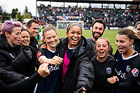 Tacoma, WA - Sunday, September 29, 2019: Reign FC vs Portland Thorns at Cheney Stadium.