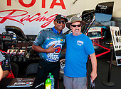 Toyota Racing Experience, fans, crowd, autographs, Antron Brown, Matco Tools
