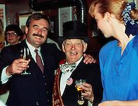 1989, Hilversum, Dutch Open, Melkhuisje, in de nagebouwde Pieper