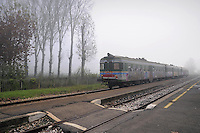 - Luzzara (Reggio Emilia), stazione delle ferrovie Emilia Romagna<br /> <br /> - Luzzara (Reggio Emilia),  train station of Emilia Romagna railways
