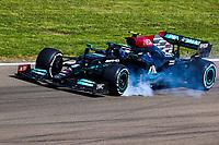 16th April 2021; Autodromo Enzo and Dino Ferrari, Imola, Italy; F1 Grand Prix of Emilia Romagna, Free Practise sessions;  BOTTAS Valtteri (fin), Mercedes AMG F1 GP W12 E Performance