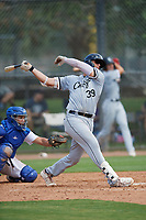 Sam Abbott (39) of the ACL White Sox during a game against the ACL Dodgers on September 18, 2021 at Camelback Ranch in Phoenix, Arizona. (Tracy Proffitt/Four Seam Images)