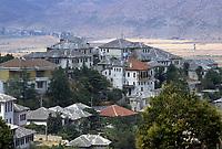 - Albania, panorama della città di Argirocastro<br /> <br /> - Albania, panorama of the Gjirokaster town