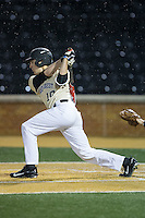 Zach Seal (10) of the Wake Forest Demon Deacons follows through on his swing against the Davidson Wildcats at David F. Couch Ballpark on February 28, 2017 in Winston-Salem, North Carolina.  The Demon Deacons defeated the Wildcats 13-5.  (Brian Westerholt/Four Seam Images)