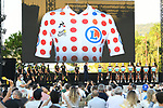Mitchelton-Scott and AG2R La Mondiale on stage at the team presentation before the Tour de France 2020, Nice, France. 27th August 2020.<br /> Picture: ASO/Alex Broadway | Cyclefile<br /> All photos usage must carry mandatory copyright credit (© Cyclefile | ASO/Alex Broadway)