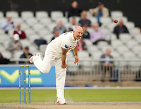 5th July 2021; Emirates Old Trafford, Manchester, Lancashire, England; County Championship Cricket, Lancashire versus Kent, Day 2; Darren Stevens of Kent bowling