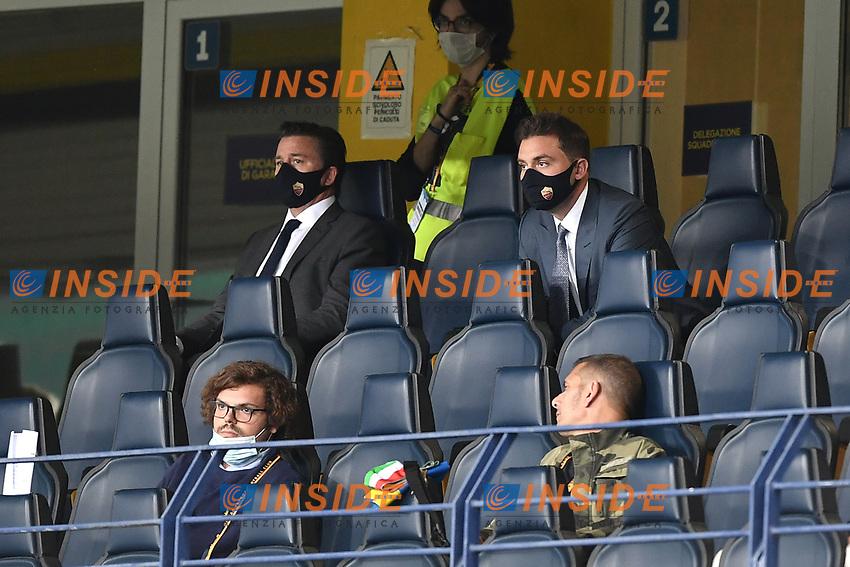 Dan Friedkin <br /> Serie A football match between Hellas Verona and AS Roma at Marcantonio Bentegodi Stadium in Verona (Italy), September 19th, 2020. Photo Image Sport / Insidefoto