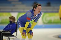 SPEEDSKATING: HEERENVEEN: 11-02-2021, IJsstadion Thialf, ISU World Speed Skating Championships 2021,  Nils van der Poel, ©photo Martin de Jong