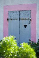 Europe/France/Bretagne/56/Morbihan/Belle-Ile/ Donnant: Détail des maisons du village