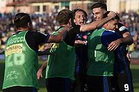 Pisa 02/10/2021 - campionato di calcio serie B / Pisa-Reggina / photo Image Sport/Insidefoto<br /> nella foto: esultanza gol Lorenzo Lucca