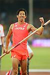 Hiroki Ogita (JPN), <br /> AUGUST 22, 2015 - Athletics : <br /> 15th IAAF World Championships in Athletics Beijing 2015 <br /> Men's Pole Vault Qualification <br /> at Beijing National Stadium in Beijing, China. <br /> (Photo by YUTAKA/AFLO SPORT)
