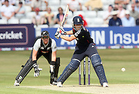 Charlotte Edwards in batting action for England as Rachel Priest looks on - England Women vs New Zealand Women - First match of the NatWest summer T20 cricket series at the Ford County Ground, home of Essex CCC, Chelmsford -  29/06/10 - MANDATORY CREDIT: Gavin Ellis/TGSPHOTO - Self billing applies where appropriate - Tel: 0845 094 6026