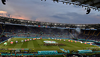 A general view of the opening ceremony of the Uefa Euro 2020 european football championships before the match between Turkey and Italy at stadio Olimpico in Rome (Italy), June 11th, 2021. Photo Andrea Staccioli / Insidefoto