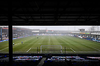 9th January 2021; Kenilworth Road, Luton, Bedfordshire, England; English FA Cup Football, Luton Town versus Reading; Kenilworth Road in the fog ahead of kick off.