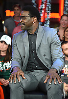 "MIAMI BEACH, FL - JANUARY 28: Michael Irvin discusses Fox Sports ""The ReUnion"" at the Fox Sports South Beach studio during Super Bowl LIV week on January 29, 2020 in Miami Beach, Florida. (Photo by Frank Micelotta/Fox Sports/PictureGroup)"