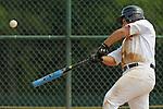 Steve Marin makes swings at a pitch during the Brick, New Jeresy v Tampa, Florida game at the 2009 Cal Ripken World Series