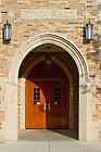 June 13, 2011; Ryan Hall door..Photo by Matt Cashore/University of Notre Dame