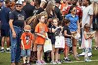 SAN ANTONIO, TX - APRIL 15, 2017: The University of Texas at San Antonio Roadrunners hold their UTSA Football Fiesta Spring Game at Dub Farris Stadium. (Photo by Jeff Huehn)