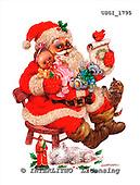 GIORDANO, CHRISTMAS SANTA, SNOWMAN, WEIHNACHTSMÄNNER, SCHNEEMÄNNER, PAPÁ NOEL, MUÑECOS DE NIEVE, paintings+++++,USGI1795,#X# stickers
