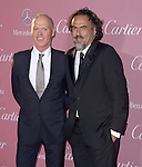 Michael Keaton and Alejandro Gonzalez Inarritu attends The The 26th Annual Palm Springs International Film Festival in Palm Springs, California on January 03,2015                                                                               © 2014 Hollywood Press Agency