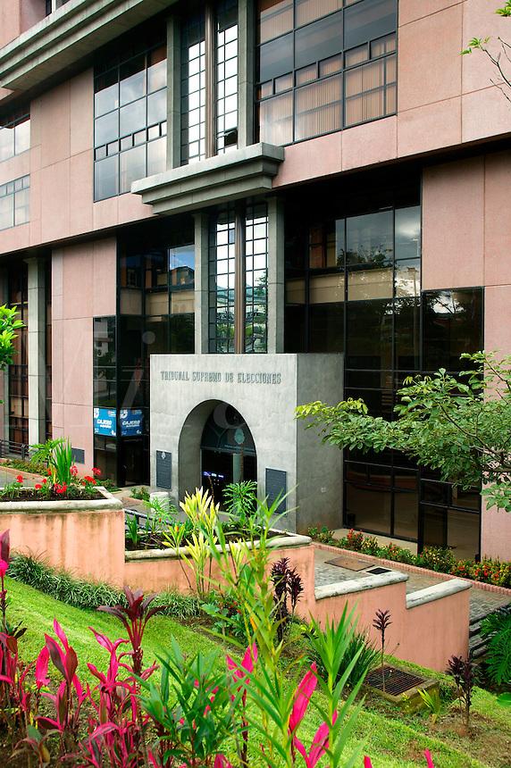 Tribunal Supremo de Elecciones (Supreme Court of Elections) San Jose, Costa Rica