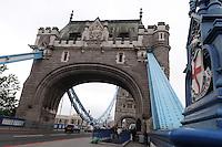 LONDRES-UK-25-05-2013.Vista del Puente levadizo Tower Bridge, Londes. View of Tower brige, London. Photo: VizzorImage
