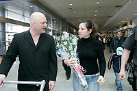 Montreal (Qc) CANADA - Wednesday, May 4, 2005-<br /> <br /> <br /> Sophie Dube 19, who spent six months behind bars in Quatar for trying to cash $60,000 worth of fake cheques.<br />  arrived at Trudeau International Airport on Tuesday.<br /> She was welcomed by her family and by publisher Michel Brule (Les  editions les Intouchables)