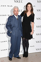 Nicky Haslam<br /> at the Vogue 100: A Century of Style exhibition opening held in the National Portrait Gallery, London.<br /> <br /> <br /> ©Ash Knotek  D3080 09/02/2016