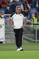 23rd September 2021;  Stadio Olimpicom, Roma, Italy; Serie A League Football, Roma versus Udinese;Luca Gotti coach of Udinese