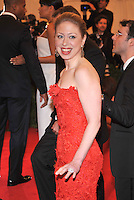 Chelsea Clinton at the 'Schiaparelli And Prada: Impossible Conversations' Costume Institute Gala at the Metropolitan Museum of Art on May 7, 2012 in New York City. ©mpi03/MediaPunch Inc.