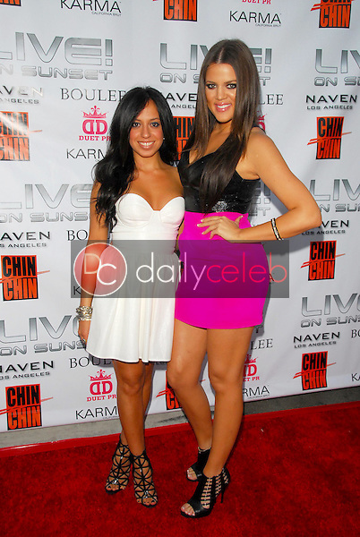 Debbie Moradzadeh and Khloe Kardashian<br />at the Naven And Boulee Fashion Event. Live! on Sunset, West Hollywood, CA. 06-30-09<br />Dave Edwards/DailyCeleb.com 818-249-4998
