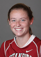 STANFORD, CA - OCTOBER 29:  Claire Hubbard of the Stanford Cardinal women's lacrosse team poses for a headshot on October 29, 2009 in Stanford, California.