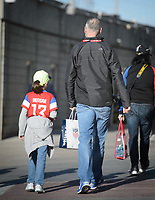 San Diego, Ca - Sunday, January 21, 2018: Fans during a USWNT 5-1 victory over Denmark at SDCCU Stadium.