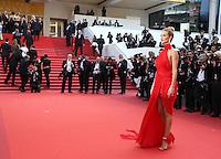 ROSIE HUNTINGTON WHITELEY<br /> MONTEE DES MARCHES DU FILM LA FILLE INCONNUE (THE UNKNOWN GIRL)<br /> RED CARPET OF THE MOVIE LA FILLE INCONNUE (THE UNKNOWN GIRL)<br /> 69 EME FESTIVAL DE CANNES