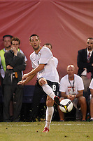 United States midfielder Clint Dempsey (8). The men's national teams of the United States and Argentina played to a 0-0 tie during an international friendly at Giants Stadium in East Rutherford, NJ, on June 8, 2008.