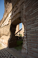 """Diagonale Palatina '16, 2017 by Artist Mauro Staccioli - """"Sensibile Ambientale"""".<br /> <br /> Rome, 03/03/2019. Visiting and documenting le Terme Di Caracalla (the Bath Of Caracalla, Thermae Antonianae). «[…] The Thermae Antonianae, one of the largest and best preserved examples of an ancient spa complex, was constructed under the auspices of the Emperor Caracalla in the southern part of the city. The building was finished in 216 A.D. and exhibits the rectangular plan typical of Imperial spa centres. The spa itself was not simply a place for bathing, sport and health, it was also a place of study and for relaxing. […] Around the centre of the structure the various parts of the spa are found in sequential order: the """"Calidarium"""", the """"Tepidarium"""", the """"Frigidarium"""" and the """"Natatio"""". There are also other zones and areas to be found around the two gymnasiums. […] Written manuscripts refer to enormous marble columns, flooring made of coloured marble, mosaics of glass and marble on the walls, painted stuccos and hundreds of statues located in niches and placed centrally in the rooms themselves. The water system was made possible by the construction of a special duct from the main aqueduct called the Aqua Antoniana […]» (1.).<br /> This visit was possible thanks to the company of Artist and Curator, Flavio Marzadro and the Italian State initiative: """"Domeniche al Museo"""" (Sunday at the Museum, 2.).<br /> <br /> Footnotes & Links:<br /> 1. (Source, Coopculture.it ENG & ITA) https://www.coopculture.it/en/heritage.cfm?id=6 & https://www.coopculture.it/heritage.cfm?id=6<br /> 2. http://musei.beniculturali.it/en/eventi/domenicalmuseo<br /> (Source, Britannica.com, ENG) https://www.britannica.com/topic/Baths-of-Caracalla<br /> (Source, Wikipedia.org, ENG & ITA) https://en.wikipedia.org/wiki/Baths_of_Caracalla & https://it.wikipedia.org/wiki/Terme_di_Caracalla"""
