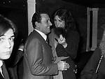 ALBERTO SORDI CON MARINA RIPA DI MEANA<br /> ROMA 1978