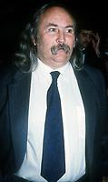 David Crosby, 1990, Photo By John Barrett/PHOTOlink