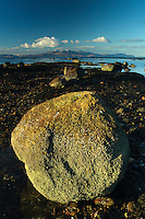 Looking towards Arran from Seamill, Ayrshire<br /> <br /> Copyright www.scottishhorizons.co.uk/Keith Fergus 2011 All Rights Reserved