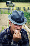 Nikolay lives in a small abandoned village and can use his old truck only within it because all the roads have been overgrown during past years