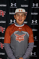 Luis Agustin Garcia during the Under Armour All-America Tournament powered by Baseball Factory on January 17, 2020 at Sloan Park in Mesa, Arizona.  (Mike Janes/Four Seam Images)