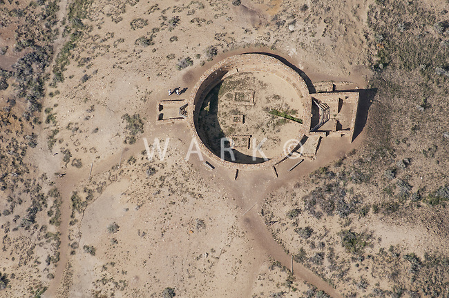 Kiva at Chaco Canyon