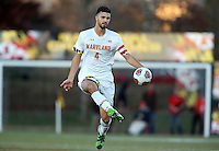 College Park,MD - Sunday, November 06 2016: Maryland defeated Michigan 3-2 in a Big 10 tournament quarter-final match at Ludwig Field.