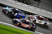 2017 NASCAR Monster Energy Cup - Can-Am Duels<br /> Daytona International Speedway, Daytona Beach, FL USA<br /> Thursday 23 February 2017<br /> Denny Hamlin, FedEx Express Toyota Camry, Kasey Kahne and Ryan Blaney<br /> World Copyright: Nigel Kinrade/LAT Images<br /> ref: Digital Image 17DAY2nk07217