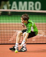 06-02-11, Tennis, Netherlands, Rotterdam, ABNAMROWTT 2011, Ballenjongen