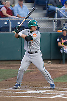 July 19, 2007: Boise Hawks' Josh Donaldson batting against the Everett AquaSox in a Northwest League game at Everett Memorial Stadium in Everett, Washington.